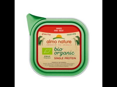 Almo Nature  Natvoer voor Honden - Bio Organic Single Protein - 11 x 150g