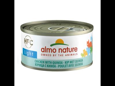 Almo Nature  Natvoer voor Katten - HFC Light - 24 x 70g