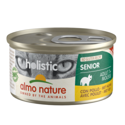 Almo Nature Natvoer voor Senior - Holistic Senior Mousse - 24 x 85g