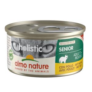 Almo Nature Natvoer voor Senior - Holistic Senior Mousse - 24 x 85g
