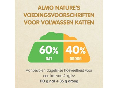 Almo Nature  Natvoer voor Katten - HFC Complete - 24 x 70g