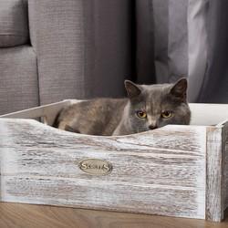 Kattenmand Kistje met Kussen