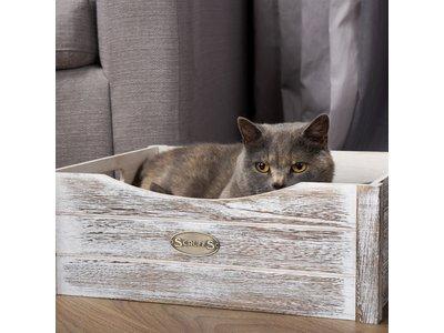 Kattenmand comfortabel kistje met kussen