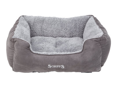 Comfortabele Gevoerde Hondenmand - Scruffs - Grijs in Maat S/M/L/XL