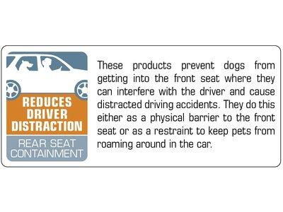 Kurgo hondenautogordel direct voor gordelhouder