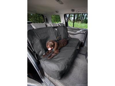 Beschermhoes voor achterbank auto, Waterbestendig - Kurgo Wander - Beige, Zwart of Grijs 140cm breed