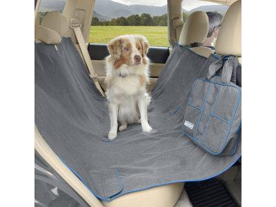 Kurgo hondendeken voor in de auto grijs