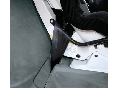Kurgo hondendeken voor in de auto beige/grijs