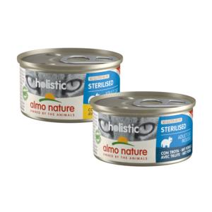 Almo Nature Natvoer voor Gesteriliseerde Katten- Holistic Sterilized Mousse - 24 x 85g