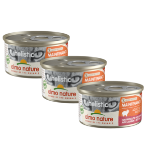 Almo Nature Natvoer voor Katten- Holistic Maintenance Mousse - 24 x 85g