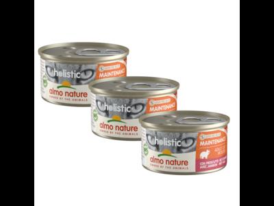 Almo Nature Natvoer voor Katten- Holistic Maintenance Mousse - 24 x 85g