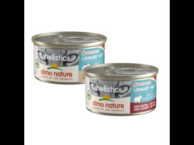 Almo Nature Natvoer voor Katten met Urinewegproblemen - Holistic Urinary Help - 24 x 85g