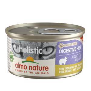 Almo Nature Almo Nature Natvoer voor Katten - Holistic Digestive Help - 24 x 85g
