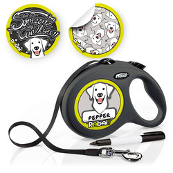 Gepersonaliseerde Flexi Hondenlijn voor Labrador