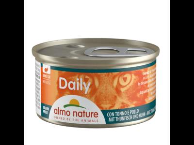 Almo Nature  Natvoer voor Katten - Daily Menu Mousse - 24 x  85g