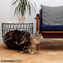 Design Kattenmand en Tafel (licht beschadigd)