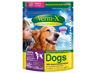 Verm-X kruidenkorrels voor honden 200gr