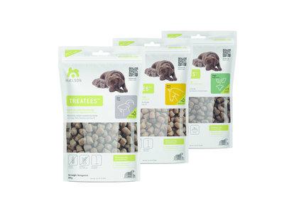 Maelson Treatees 100% natuurlijke gezonde hondensnacks (veggie) 200gr
