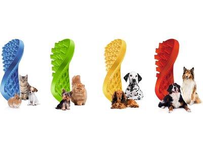 Pet+Me multifunctionele hondenborstel