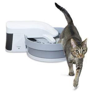 PetSafe Zelfreinigende kattenbak - PetSafe Simply Clean - Fluisterstil met koolstoffilter tegen geurtjes