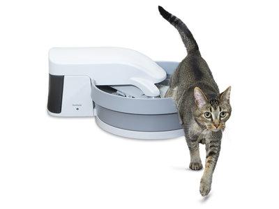 Zelfreinigende kattenbak - PetSafe Simply Clean - Fluisterstil met koolstoffilter tegen geurtjes