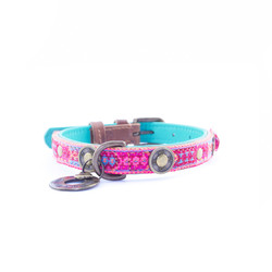 Hondenhalsband Boho Rosa