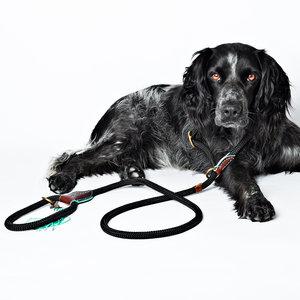 Dog with a Mission - Hondenriem Long John Black