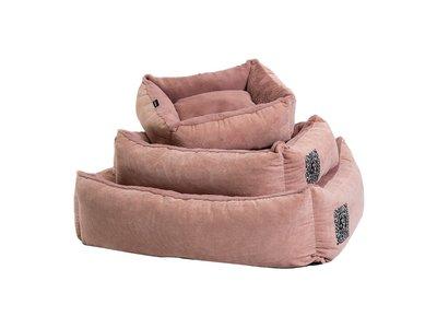 Hondenmand Comfortabel Wasbaar - 51 Degrees North Victoria - Blauw & Roze