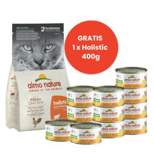 Almo Nature Start Pakket Droogvoer Kip + Natvoer Kipfilet