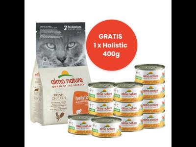 Almo Nature Start Pakket voor Volwassen Katten