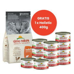 Almo Nature Start Pakket Droogvoer Kip + Natvoer Kip & Garnaaltjes