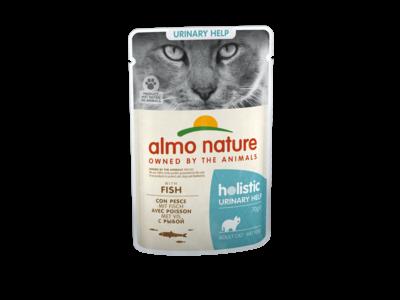 Natvoer voor Katten met Urinewegproblemen - Almo Nature - Holistic Urinary Help Pouch - 30 x 70g