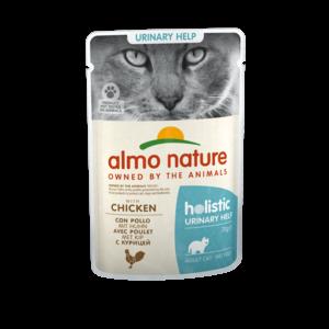 Almo Nature Natvoer voor Katten met Urinewegproblemen - Almo Nature - Holistic Urinary Help Pouch - 30 x 70g