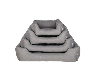 Comfortabele Hondenmand Shark Grey met Anti-slip onderzijde - Rebel Petz - in S/M/L/XL