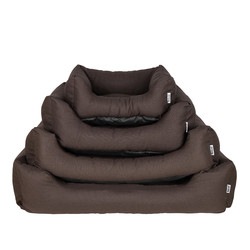 Comfortabele Hondenmand Chocolate Brown in S/M/L/XL