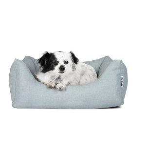Rebel Petz Comfortabele Hondenmand Slate Blue met afneembare & wasbare hoes - Rebel Petz - in S/M/L/XL