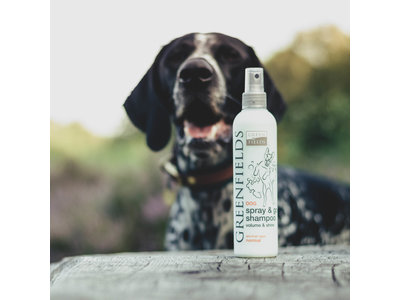 Honden Droogshampoo - Spray & Go - Greenfields
