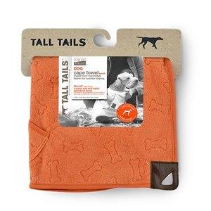 Greenfields Greenfields Cape Towel - Badjas van microvezel voor honden - Om je hond snel af te drogen - Oranje - 50x50cm