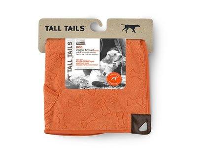 Hondenbadjas van Microvezel - Wasbare Hondenhandoek - Tall Tails Cape - Medium (50x50cm) of Large (68x68cm)