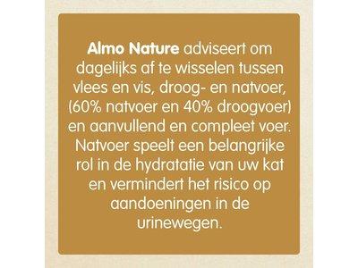 Graanvrij Natvoer voor Katten - Almo Nature Daily Menu - 24 x  400g