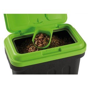 Voedselcontainer Zwart/Groen - Maelson Dry Box  in 7,5, 15 of 20 liter