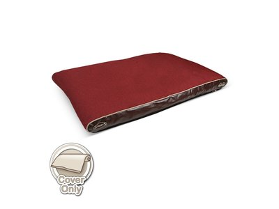 Losse Hoes voor Scruffs Hilton in Bruin, Rood of Beige - Medium (100x70) of Large (120x75)
