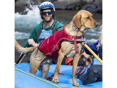 Kurgo Surf 'n Turf - Zwemvest voor honden - Rood - XS / S / M / L / XL