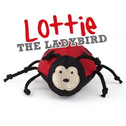 Beco Plush Wand Toy Lottie het lieveheersbeestje