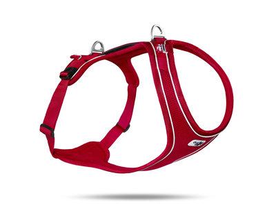Curli Belka Actief Hondentuig, bruin, zwart en rood. Maat XS t/m XL
