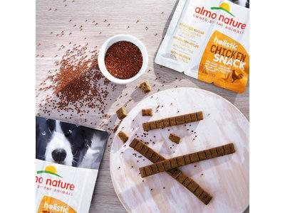 Glutenvrije Hondensnack Sticks - Almo Nature - Holistic Snacks - 3 x 10g - Verkrijgbaar in 4 smaken
