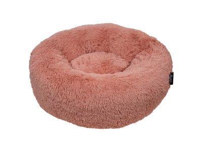 Hondenmand Comfortabel en Zacht Pluche - District 70 FUZZ - Zand, Oud Roze en Donker en Licht grijs in S/M/L