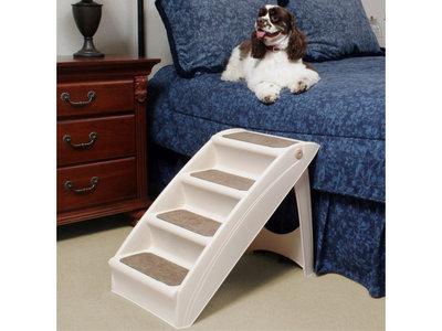 Huisdier trap tot 55kg inklapbaar met anti-slip - Solvit PupStep Plus -