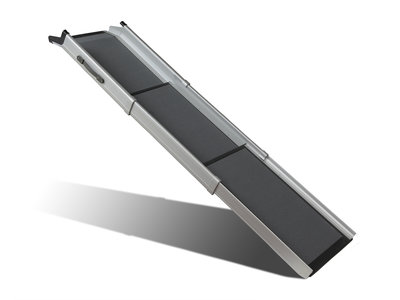 Happy Ride Triscope Ramp - Ultra-compacte en lichte Loopplank voor honden - Uitschuifbaar en tot 136kg draaggewicht - PetSafe