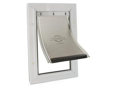 Staywell® 620 Aluminium huisdierluik met slijtvaste flexibele klap met UV-zonbescherming in 4 maten beschikbaar